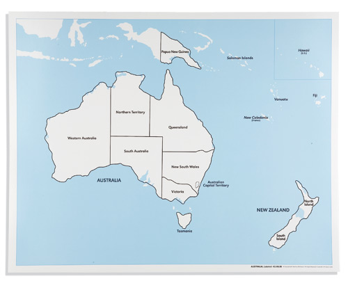 Australia Map Labeled.Australia Control Map Labeled